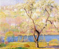 Daniel Garber Gicl�e Print on Canvas bucks county print