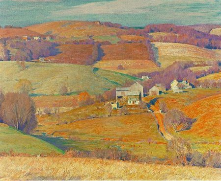 Down in Bucks County by Daniel Garber