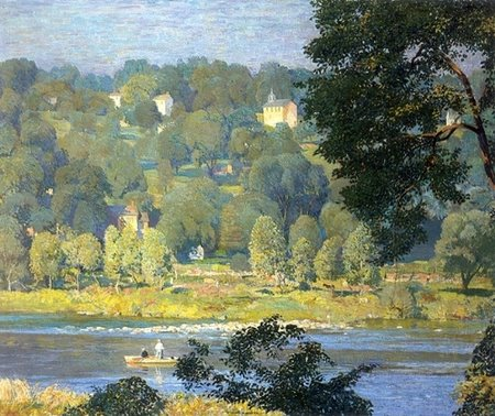 Tinicum Hillside by Daniel Garber